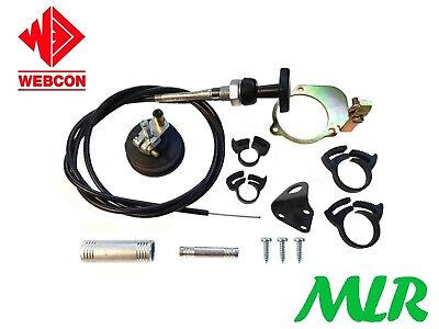 Ford Escort Mk1 Mk2 Cortina Capri Pinto Weber Carb Manual Choke Conversion Bnb • 44.99£