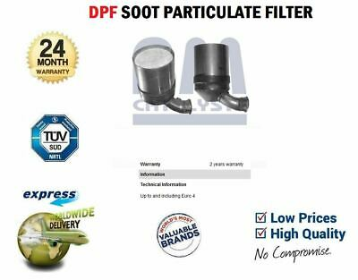 DPF SOOT PARTICULATE FILTER For CITROEN BERLINGO 1.6 HDi 110 2008->on • 162.99£