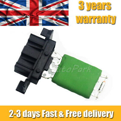 For Vauxhall Corsa D Heater Blower Fan Resistor * New High Quality* 13248240 Uk • 8.26£