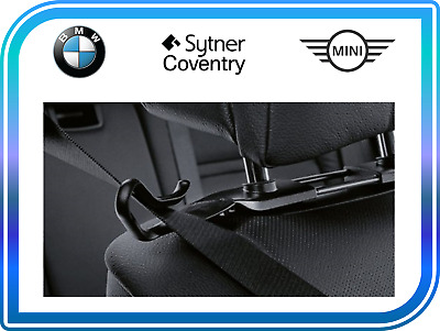 BMW Genuine Headrest Seat Belt Holders Set Left And Right 52302208036 • 29.99£
