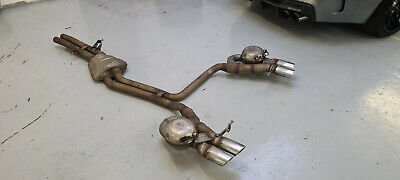 Genuine Audi SQ5 2013-17 3.0 V6 Tdi Exhaust System (Genuine Audi) • 250£
