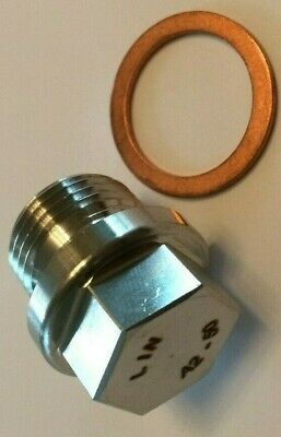 Stainless M18x1.5 Pitch Hex Plug/cap / Bolt / Bung / For Lambda Sensor Port • 4.20£