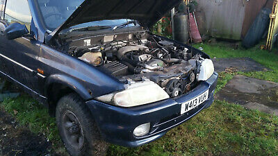 Daewoo / Ssangyong Musso / Mercedes 2.9 Diesel Complete Engine, Running • 650£