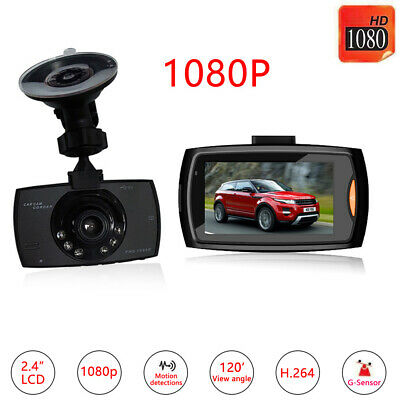 1080P Dual Lens Car DVR Front And Rear Camera Video Dash Cam Recorder 170 • 11.59£