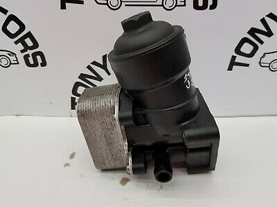 2012 AUDI A5 VW SEAT  2.0 TDi DIESEL OIL FILTER HOUSING OIL COOLER 03L115389C  • 24.85£