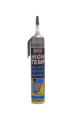 Granville High Temperature Black Instant Gasket Silicone Sealant 200ml Power Can • 12.45£