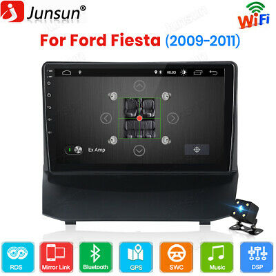 For Ford Fiesta 2009 2010 2011 Android 10.0 Car Stereo DAB Radio GPS Sat Nav BT • 189.99£