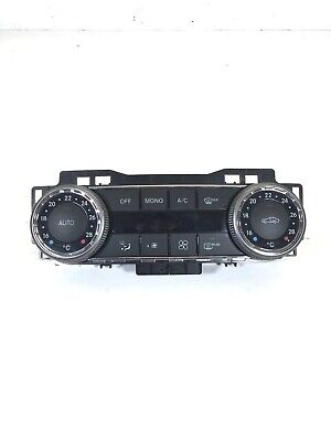 Genuine Used Mercedes C-Class W204 Climate Heater Control Switch Unit 2048309885 • 30£