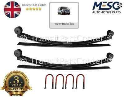 A Pair Of 3 Leaf Spring + Ubolts Fits For Ford Transit Mk7 2006-2014 Upgrade 2+1 • 284.95£