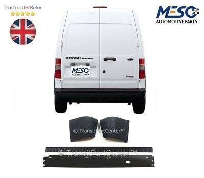 Rear Bumper And Cover With Two End Caps Fits For Ford Transit Connect 2002-2013 • 54.69£