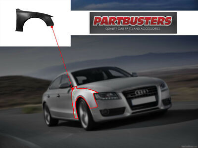 Audi A5 2008 - 2017 Front Wing Driver Side Right New Primed Aluminium • 201.99£