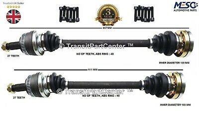 A Pair Of Right And Left Rear Drive Shaft Fits For Bmw E46 M3 2000-2009 • 132.85£