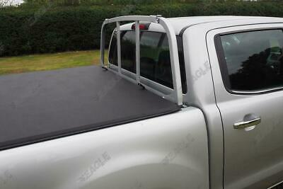 For Ford Ranger Soft Folding Tonneau Cover Load Bed Cover Fits With Ladder Rack • 239£