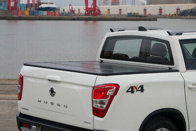 Ssangyong Musso Eagle ProFold Hard Tri Fold Tonneau Cover • 495£