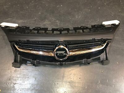Vauxhall Astra J 2012 - 2015 Front Bumper Grille Upper With Chrome Trim New • 72.99£