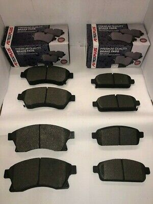 Front And Rear Brake Pads Fits Vauxhall Astra J MK6 1.3CDTi, 1.4, 1.6, 2009-2016 • 29.98£
