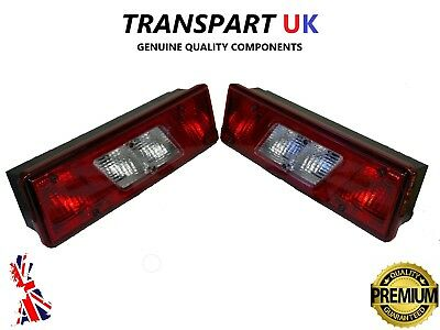 FORD TRANSIT MK8 TIPPER REAR TAIL LIGHT LAMP X2 PICKUP TRUCK RECOVERY LUTON PAIR • 59£