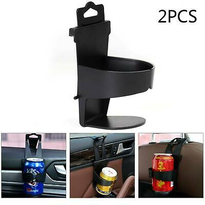 2PCS Universal Car Cup Holder Door Mount Seat Drinking Bottle Can Stand Mug • 5.49£
