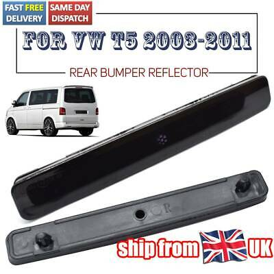 Rear Bumper Reflector For Vw T5 Multivan Accessories Tail Light Smoked L+R • 10.09£