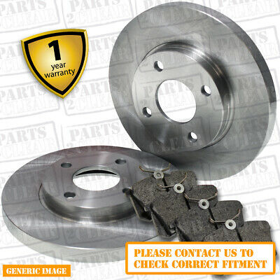 MCC SMART CAR 98- ALL MODELS FRONT 2 X BRAKE DISCS AND PADS CITY CABRIO COUPE • 35.21£