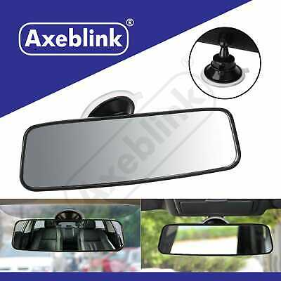 Universal Rear View Interior Car Mirror Adjustable Wide Long Suction Cup Safety • 7.49£