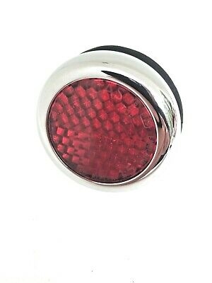 11g9021 - Lucas 57124 Lab701 Rer25 Red Reflector Nos Concours Condition Bca4537 • 17.75£