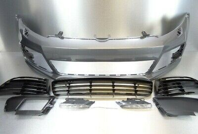 VW Golf MK6 2009 - 2012 R20 Style New Front Bumper Painted LA7T United Grey  • 380£