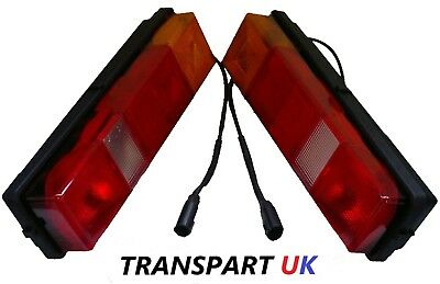 *ford Transit Tipper Pickup Recovery Luton Rear Tail Light Lamp Complete Pair • 59.90£