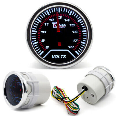 12V 52mm Volt Meter Gauge Voltage Dial Outboard Boat Marine Lally Race Car Fit • 13.96£