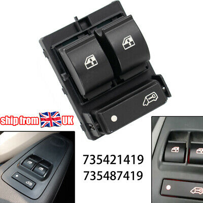 Electric Window Switch Front Right For Citroen Relay Peugeot Boxer Fiat Ducato • 9.39£