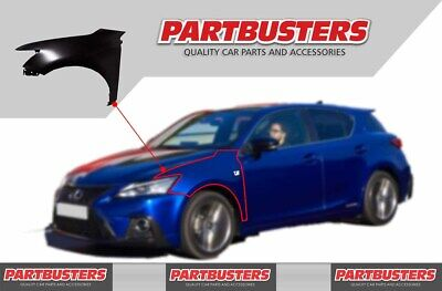 Lexus CT 200H 2011 -2017 Wing Passenger Side Front New Primed Insurance Approved • 129.99£
