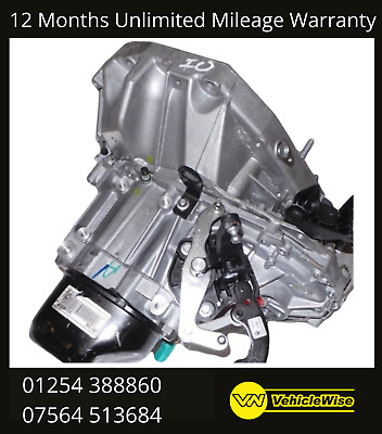 JR5154 Reconditioned Gearbox Renault Kangoo Nissan NV200 1.5 5 Speed Manual • 600£