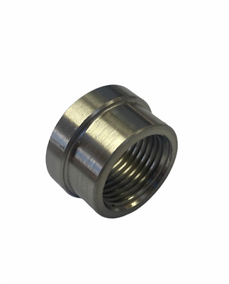 Stainless Steel Exhaust Lambda Oxygen Sensor Boss Nut M18 X 1.5 Decat • 2.95£