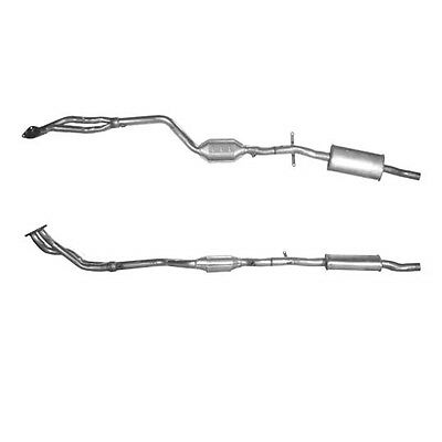 BMW 316i E46 Catalytic Converter Exhaust 1.9 90817 [1999-2001] • 100.15£