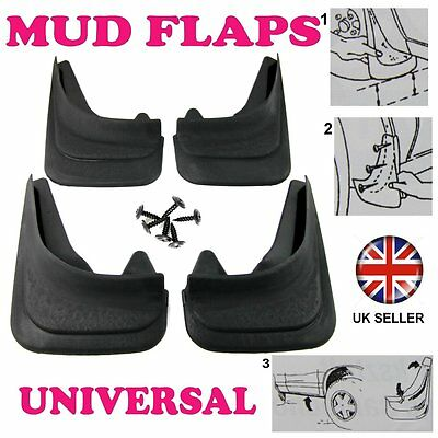 For VAUXHALL SET MOULDED MUDFLAPS 4 X MUD FLAPS FRONT & REAR • 15.98£