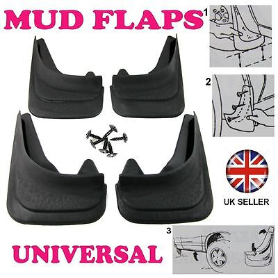 For HYUNDAI SET MOULDED MUDFLAPS 4 X MUD FLAPS FRONT & REAR • 15.98£