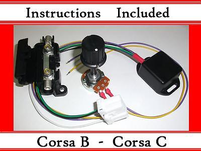 Corsa B C - Kit - Electric Power Steering Controller Box - With ECU Plug - EPAS • 23.99£