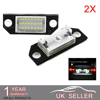 LED License Number Plate Light Lamp Error Free For FORD FOCUS C-MAX MK2 Lu01 • 7.79£