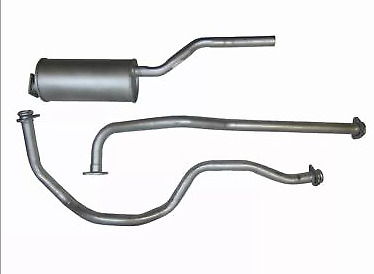 Land Rover 88 2.25 Series 2A 3 Petrol 61>11/76 Full Exhaust System 2YR WARRANTY! • 49.99£
