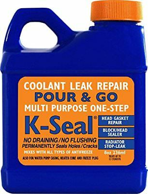 K-Seal Permanent Coolant Leak Repair For Cooling Systems Head Gaskets Radiators • 9.25£