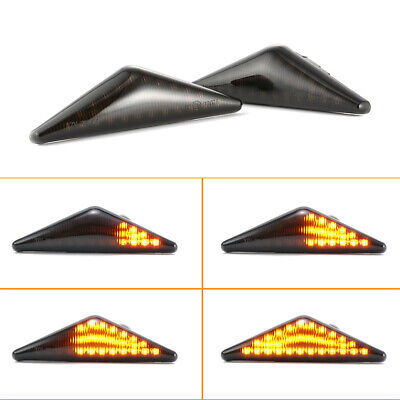 2× Dynamic LED Turn Side Signal Light Indicators For Ford Mondeo Ford Focus MK1 • 17.61£