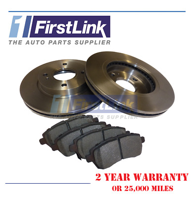 FITS - Ford KA + 2016 > 1.2, 1.5 Engines. Front Brake Discs And Pads • 40.90£