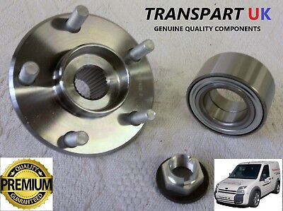 *FORD TRANSIT CONNECT 1.8 FRONT HUB WHEEL BEARING ASSEMBLY Di TDDi TDCi 02 TO 13 • 31.99£