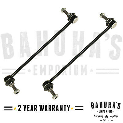 Front Anti Roll Bar Drop Links Pair For Renault Scenic MK2 2003-Onwards X2 • 12.90£