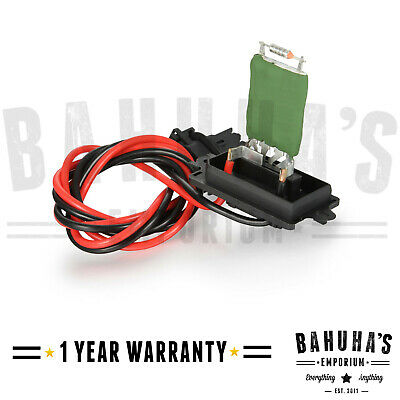 Heater Blower Motor Fan Resistor For Renault Scenic MK2 2003-2008 • 16.50£