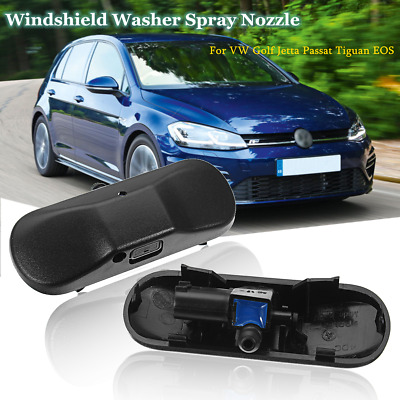 X2 Front Windshield Washer Spray Jet Nozzle Heated For VW Golf Jetta Passat Polo • 10.99£