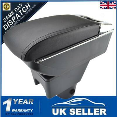 Leather Duel Console Armrest Central Console Box For Renault Duster I 2010-2015 • 19.99£