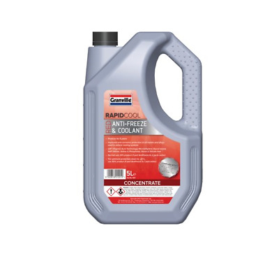Granville Premium Red Anti Freeze Coolant 5 Litre 5 Year Protection • 14.95£