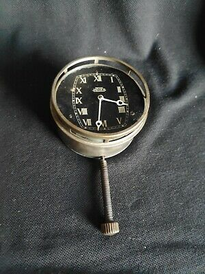 Vintage British Jaeger Classic Car Dashboard Clock # 445309 - WORKING • 39.99£