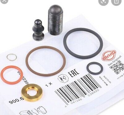 New ELRING INJECTOR SET 900.650 / 1.9 / 2.0 TDI Audi / VAG With Screw • 18.25£